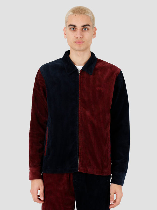 Stussy Mix Up Cord Jacket Navy 115486