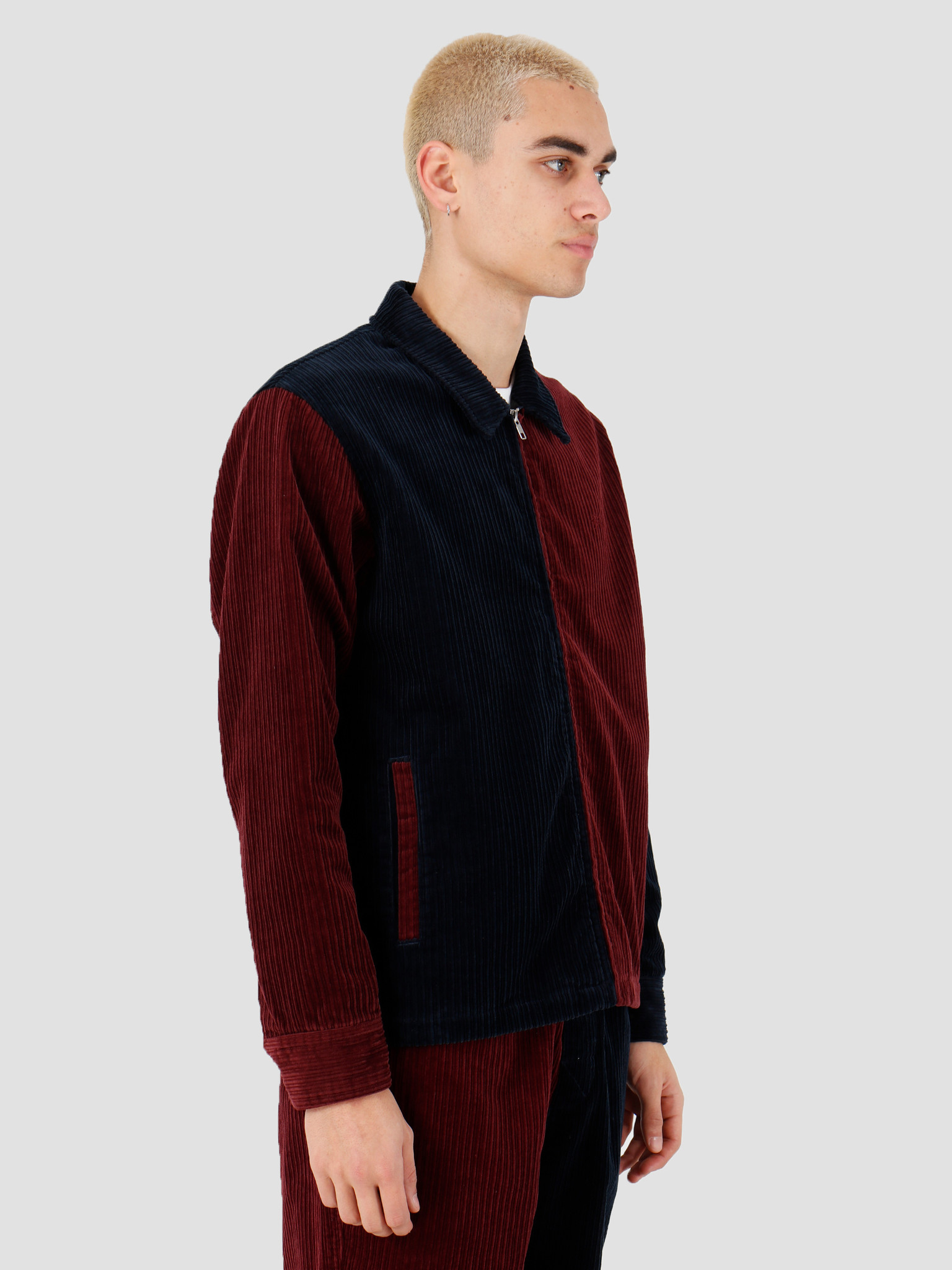 Stussy Stussy Mix Up Cord Jacket Navy 115486