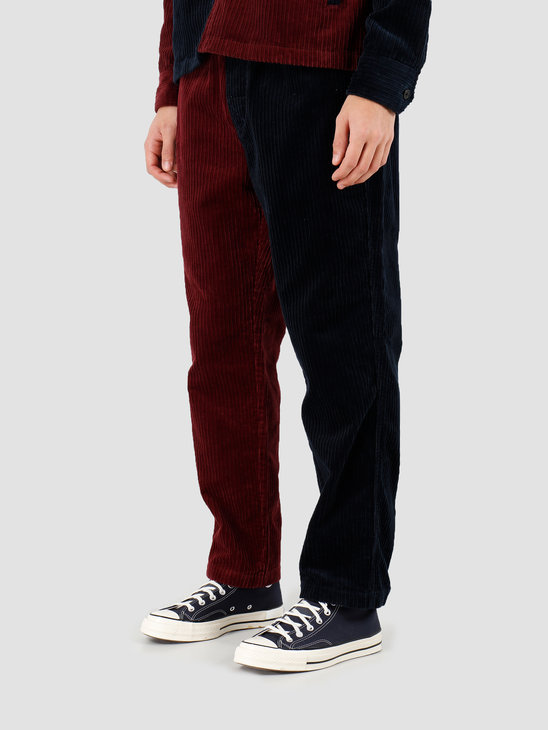 Stussy Mix Up Cord Beach Pant Navy 116414