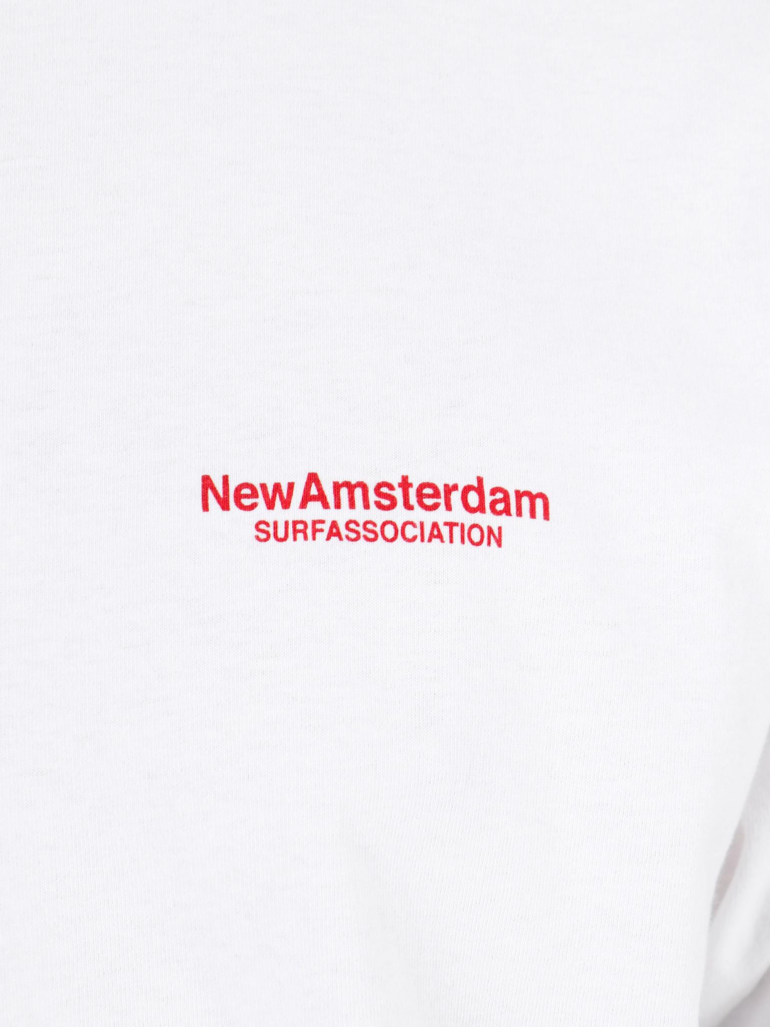 New Amsterdam Surf association New Amsterdam Surf association Club tee White 2018023