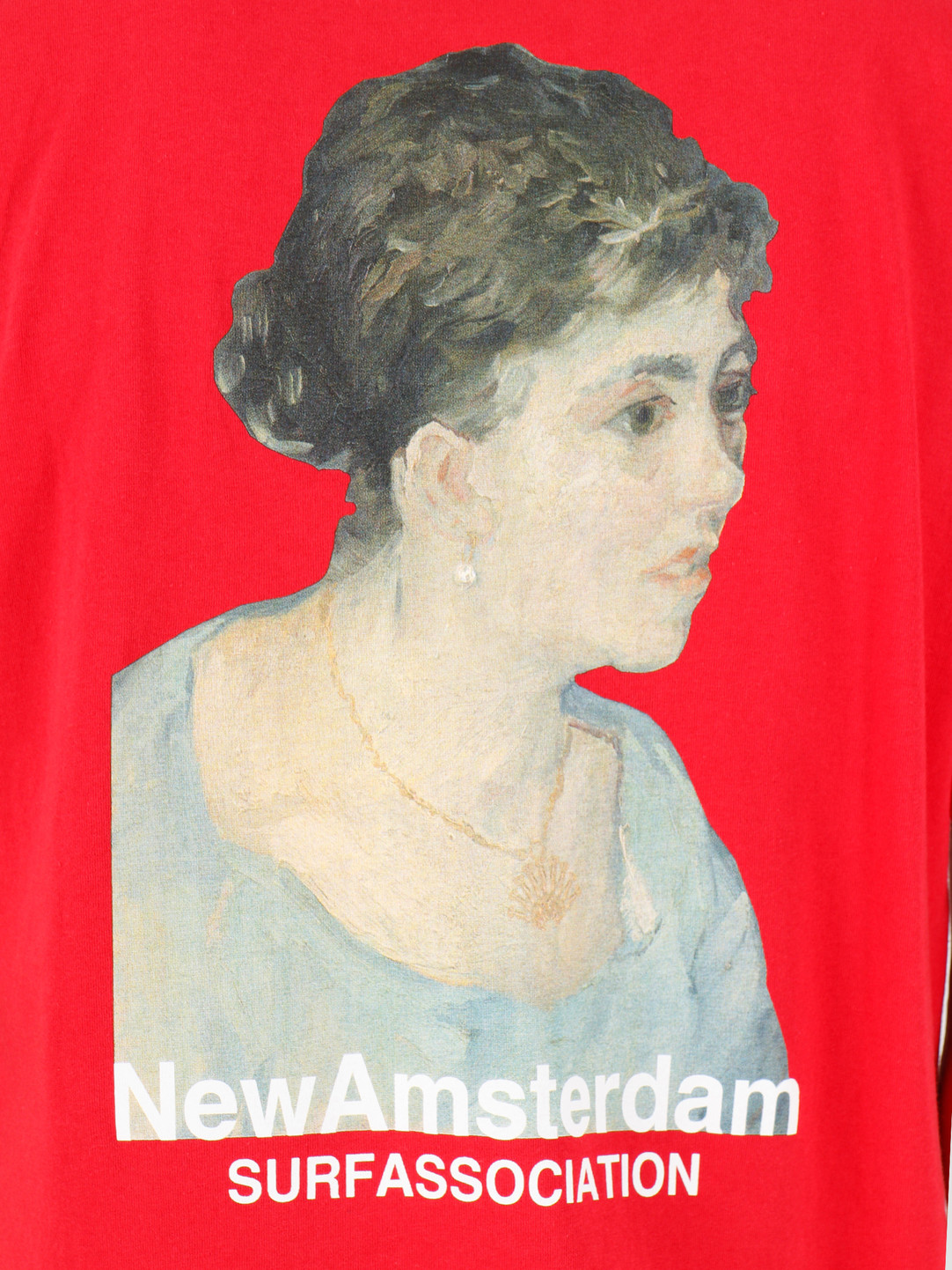 New Amsterdam Surf association New Amsterdam Surf association Van Golf tee Red 2018025