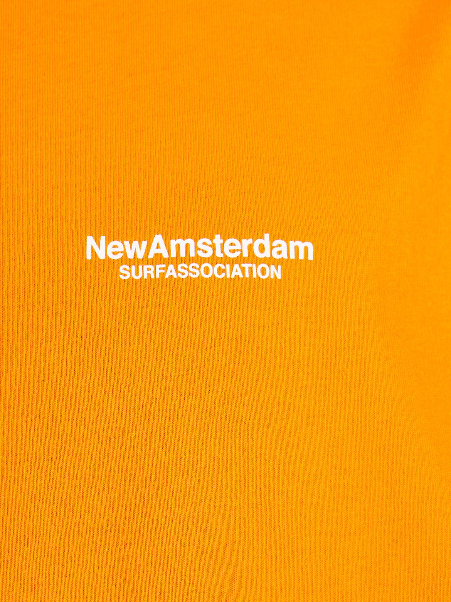 New Amsterdam Surf association New Amsterdam Surf association Water tee Orange 2018030