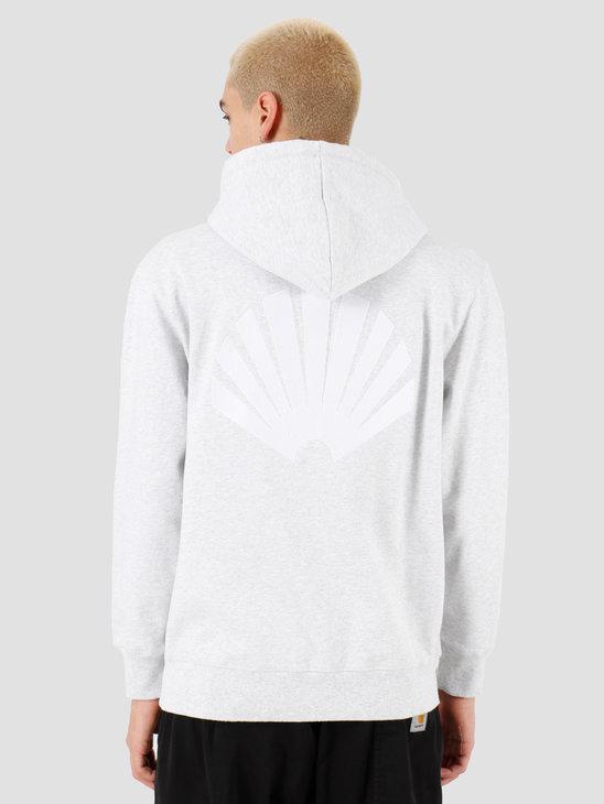 New Amsterdam Surf association Logo hoodie Ash Heather 2018035