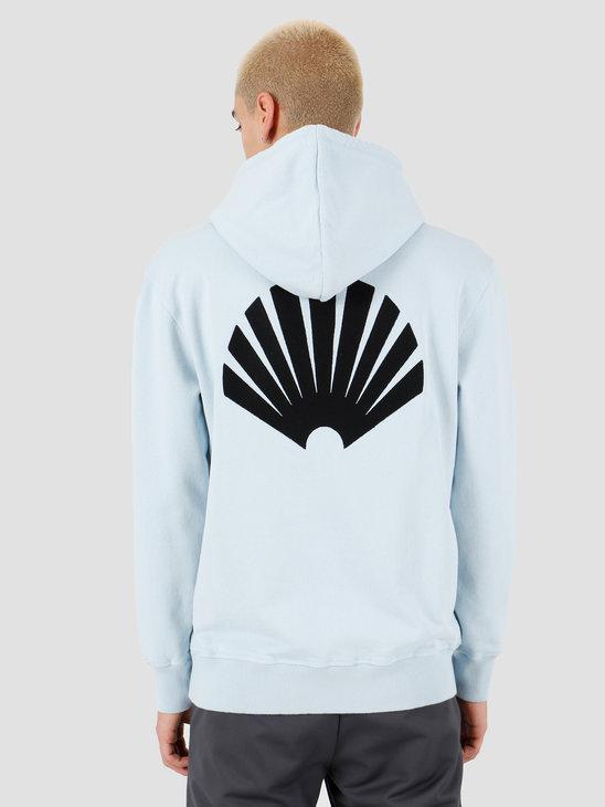 New Amsterdam Surf association Logo hoodie Light Blue 2018033