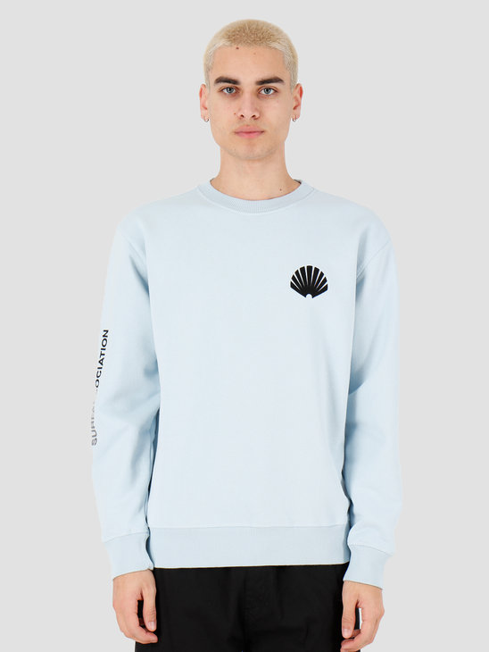 New Amsterdam Surf association Logo sweat Light Blue 2018032