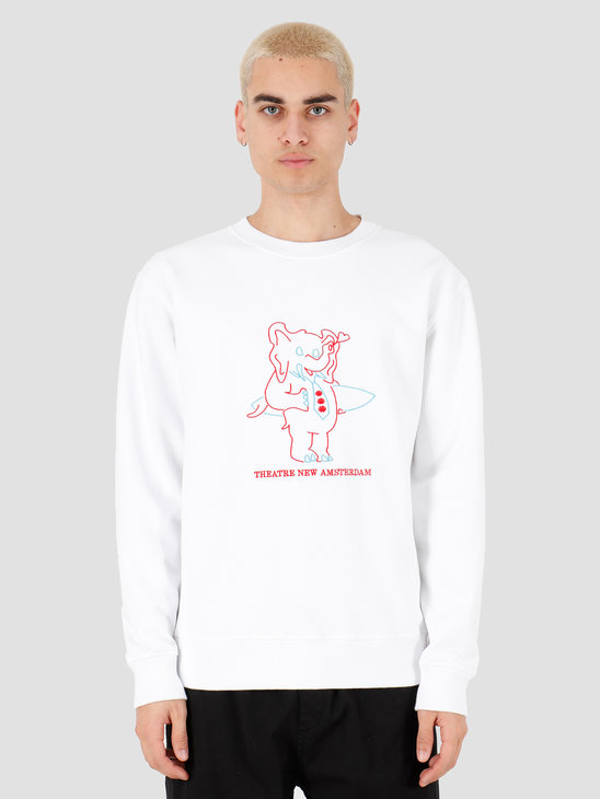 New Amsterdam Surf association Theatre sweat White 2018028