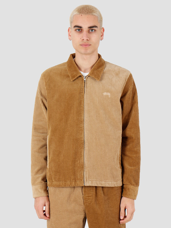 Stussy Mix Up Cord Jacket Brown 115486