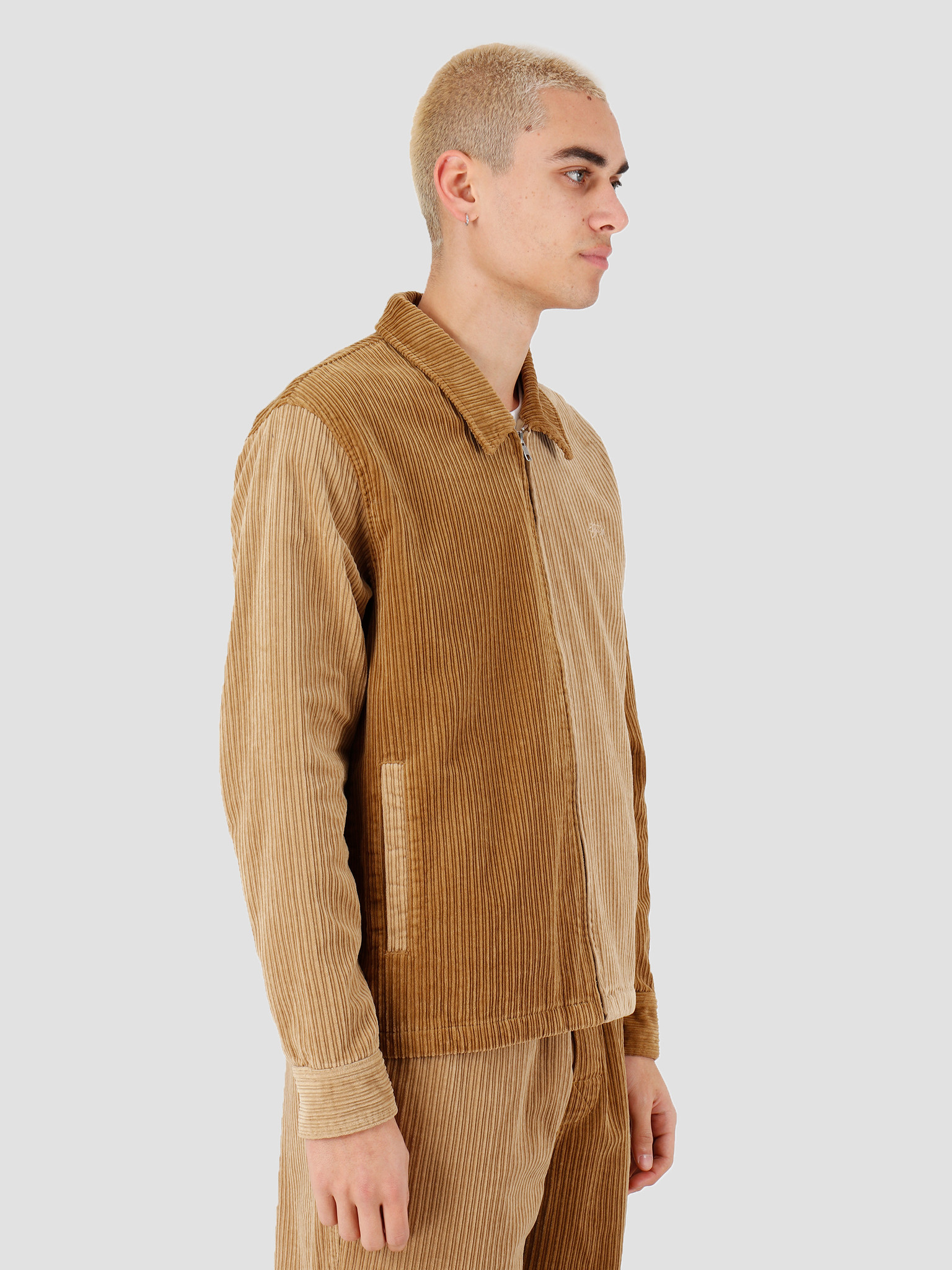 Stussy Stussy Mix Up Cord Jacket Brown 115486