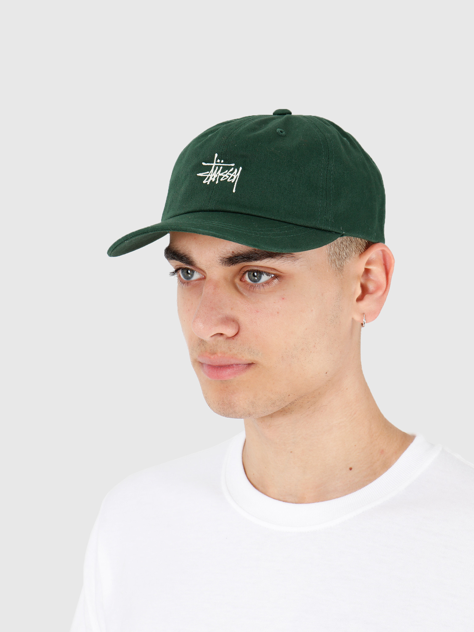 Stussy Stussy Ho19 Stock Low Pro Cap Green 131916