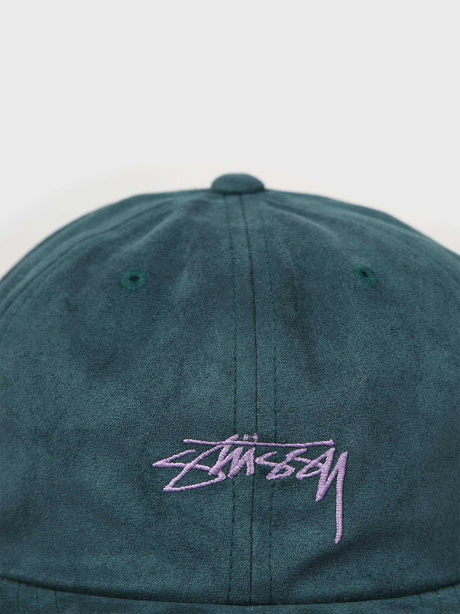Stussy Stussy Microfiber Cap Green 131920