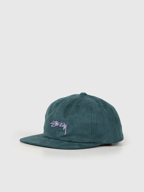 Stussy Microfiber Cap Green 131920