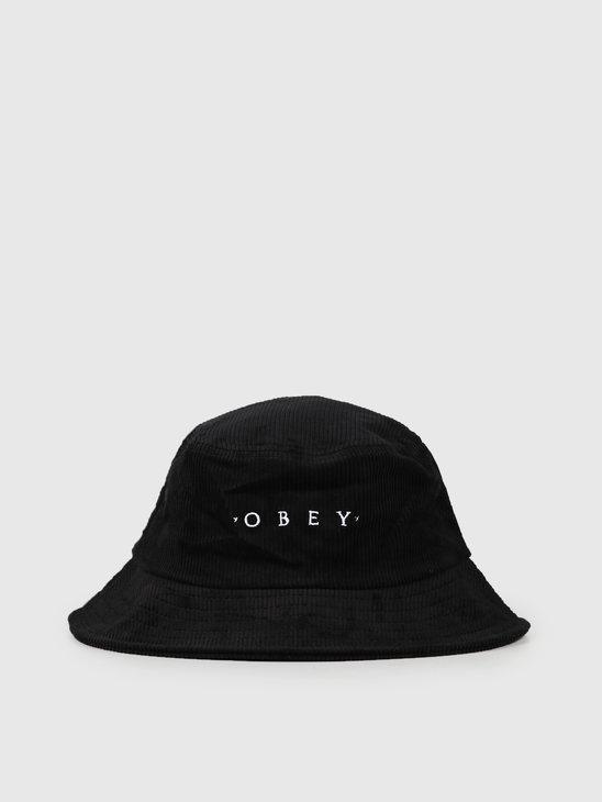 Obey Daybreak Bucket Hat Black 100520029Blk
