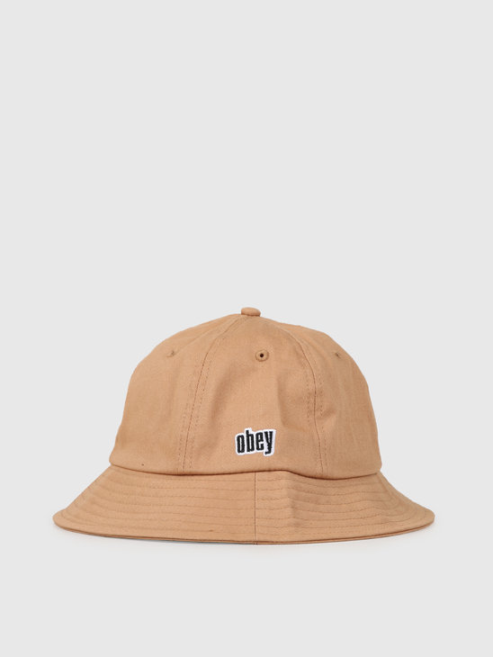 Obey Dominic Bucket Hat Bone Brown 100520030Bon