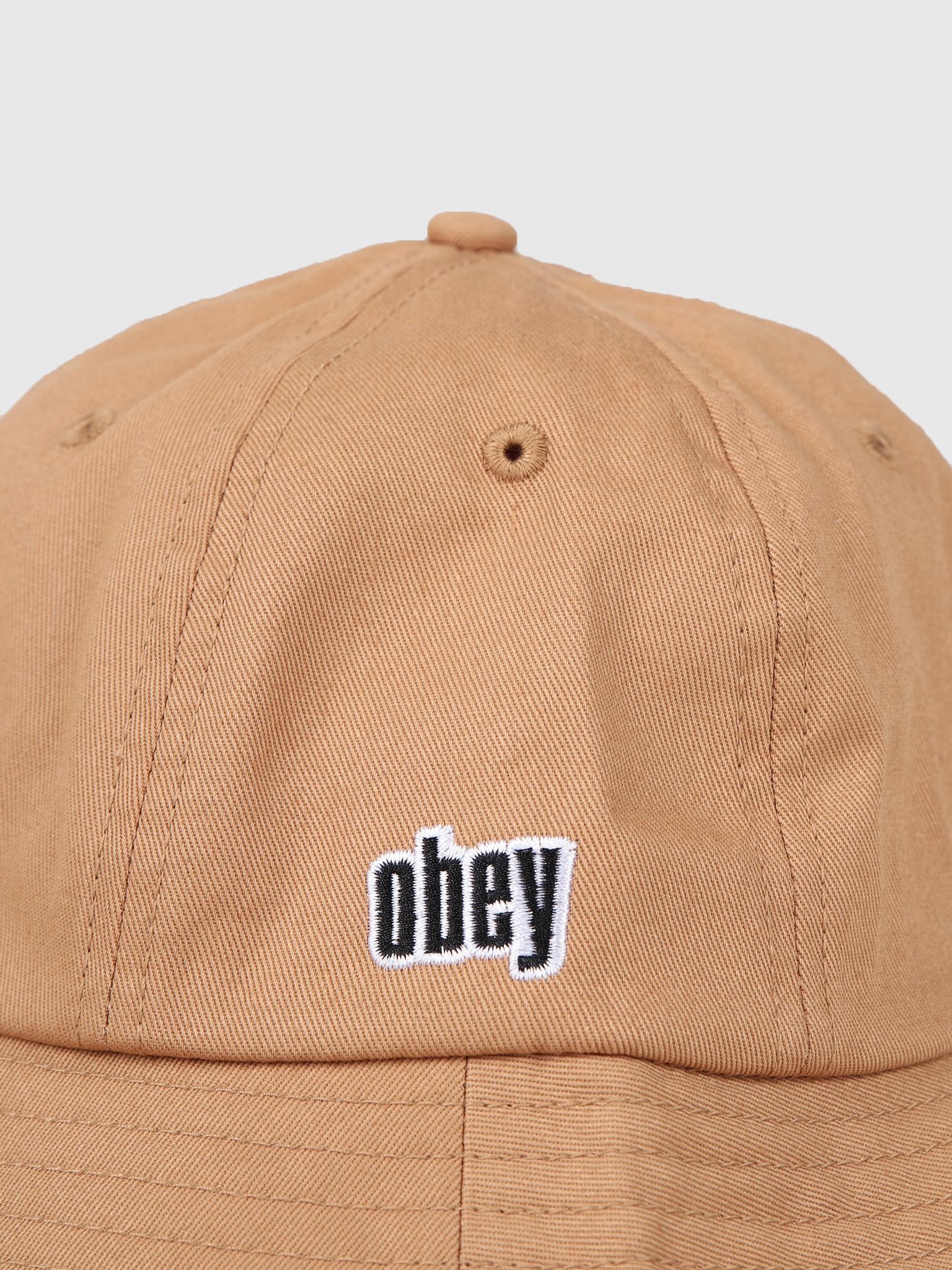 Obey Obey Dominic Bucket Hat Bone Brown 100520030Bon