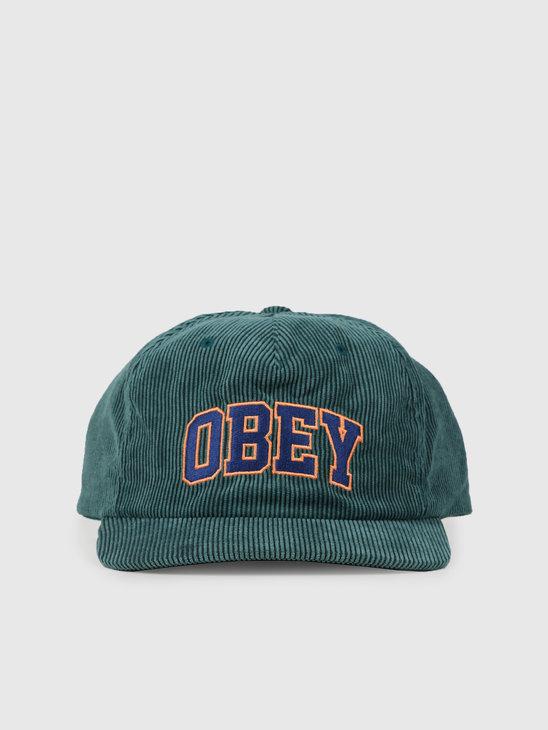 Obey Higher Strapback Dark Teal 100570106Dtl