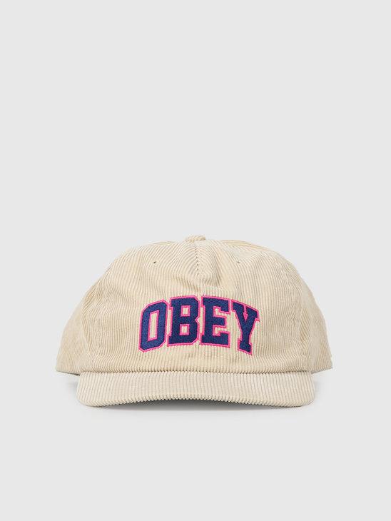 Obey Higher Strapback Khaki 100570106Kha