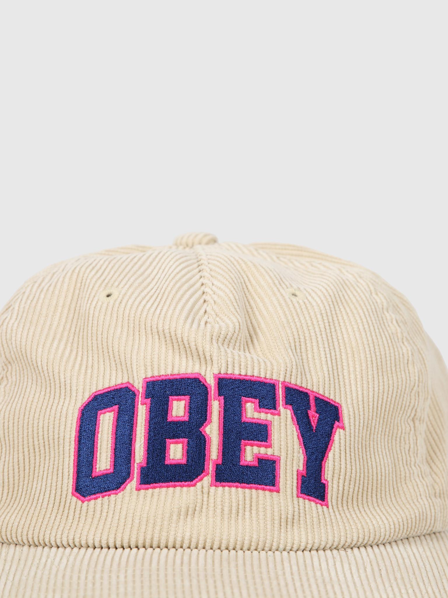 Obey Obey Higher Strapback Khaki 100570106Kha