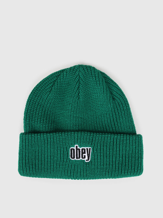 Obey Jungle Beanie Growth Green 100030139Ggn