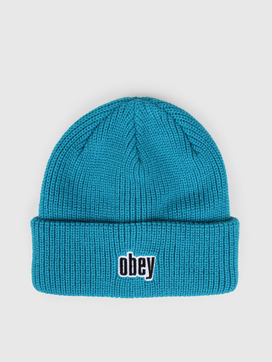 Obey Jungle Beanie Pure Teal 100030139Ptl