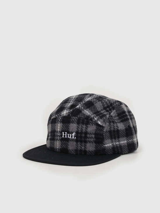HUF Boroughs Volley Hat Black Ht00409Black