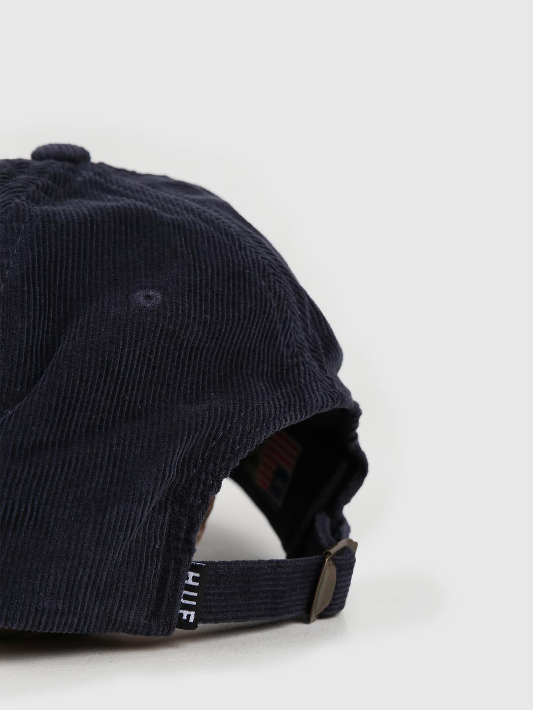 HUF HUF Marka Cv 6 Panel Hat Insignia Blue Ht00408Iablu