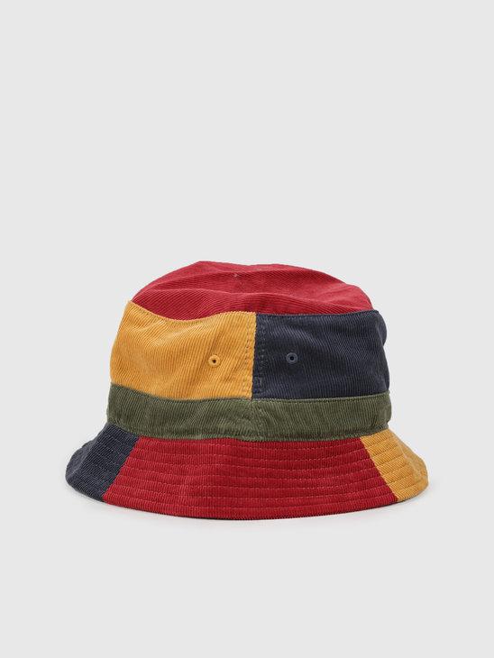 HUF Mendoza Bucket Hat Insignia Blue Ht00419Iablu