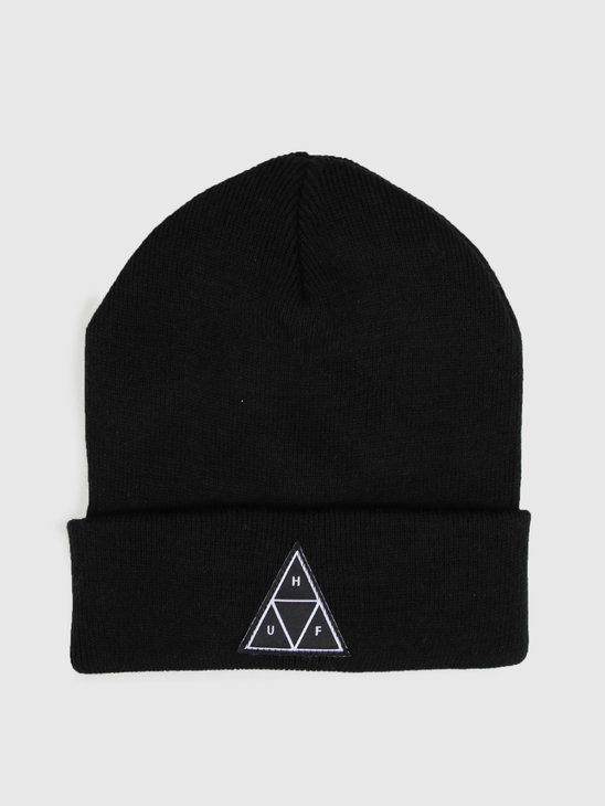 HUF Triple Triangle Beanie Black Bn00089Black