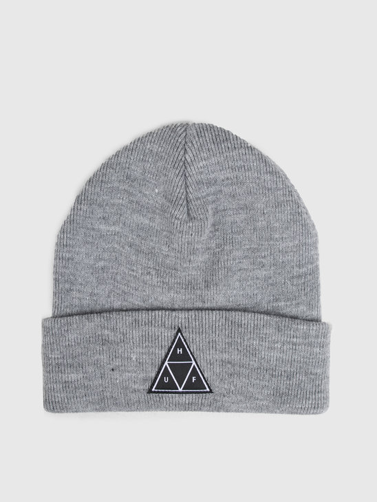 HUF Triple Triangle Beanie Grey Heather Bn00089Gyhtr