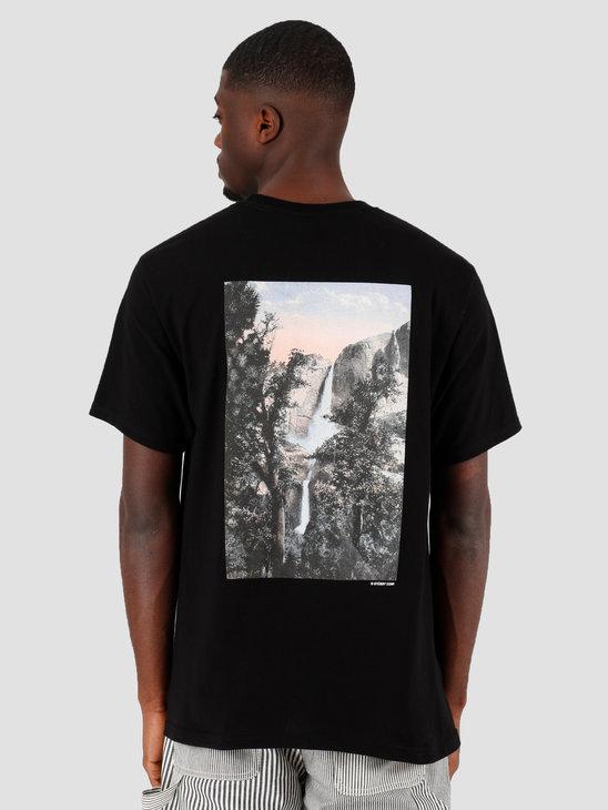 Stussy Falls Tee Black 1904475