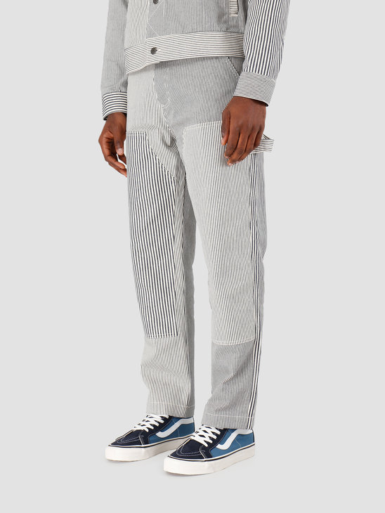 Stussy Mixed Stripe Work Pant Hickory 116393