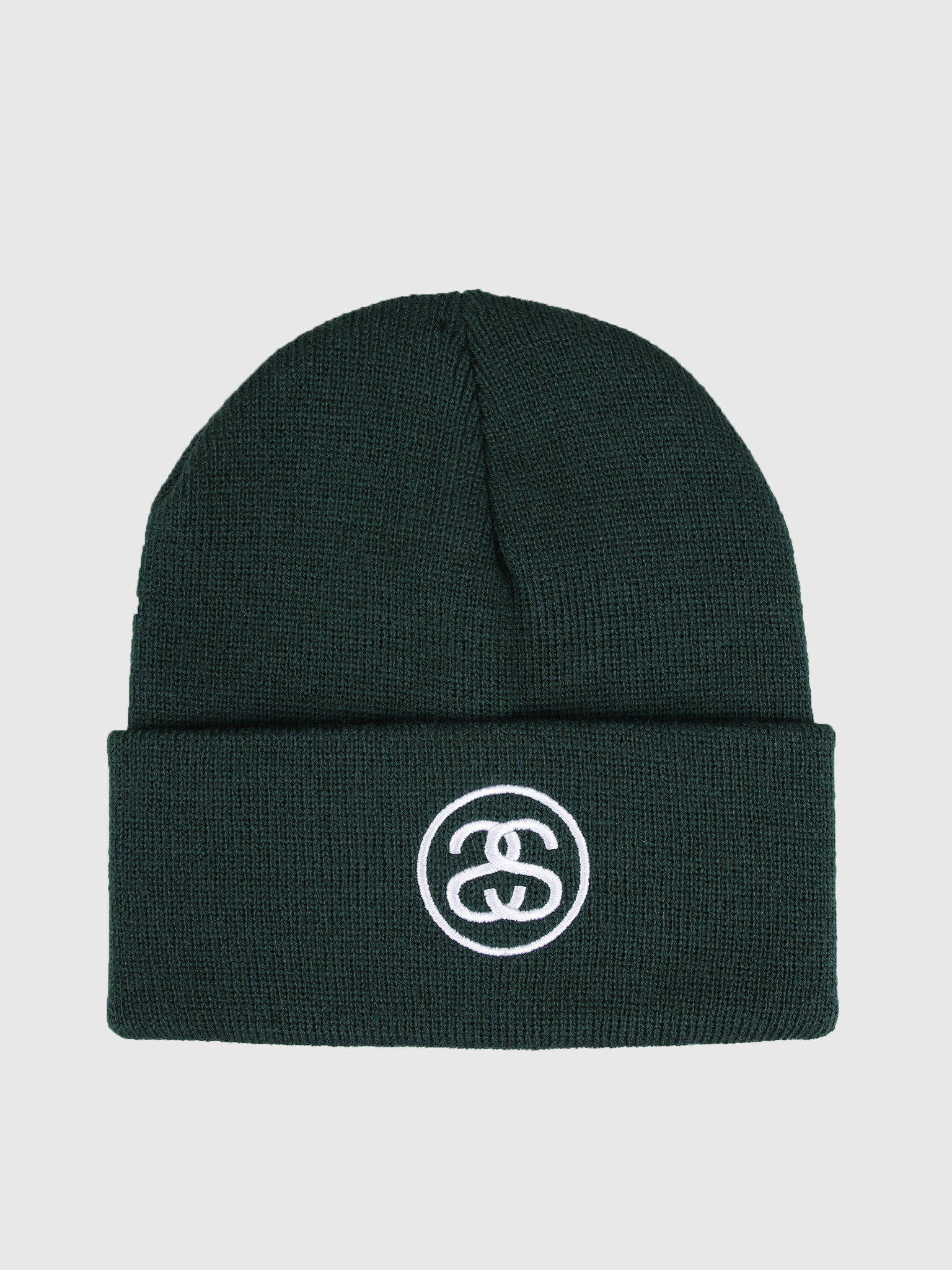 Stussy Stussy Ho19 Ss-Link Cuff Beanie College Green 132954