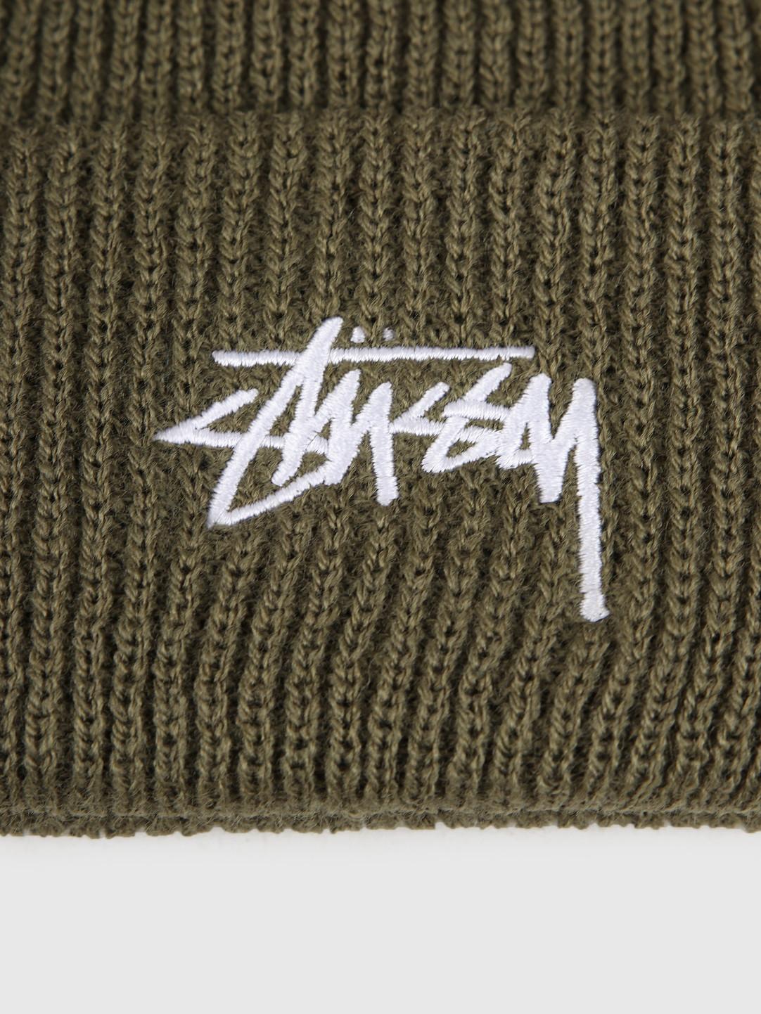 Stussy Stussy Ho19 Stock Cuff Beanie Army Green 132953