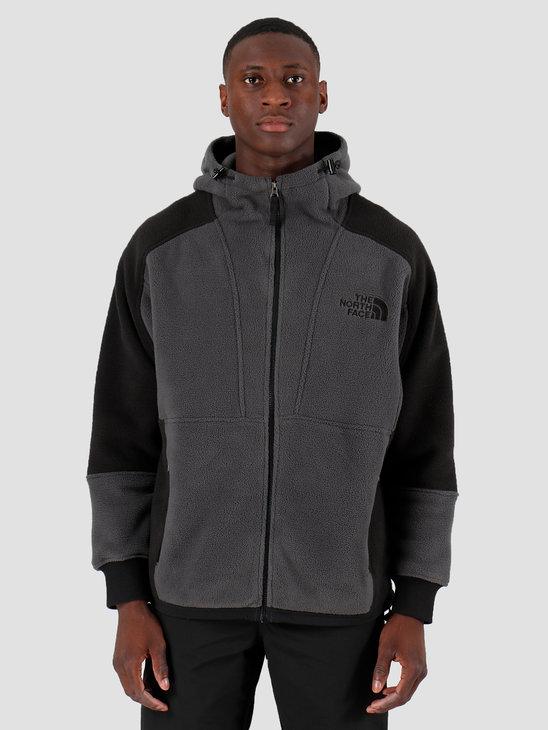 The North Face 94 Rage Classic Fleece Hoodie Asphalt Grey Black T93XASMN8