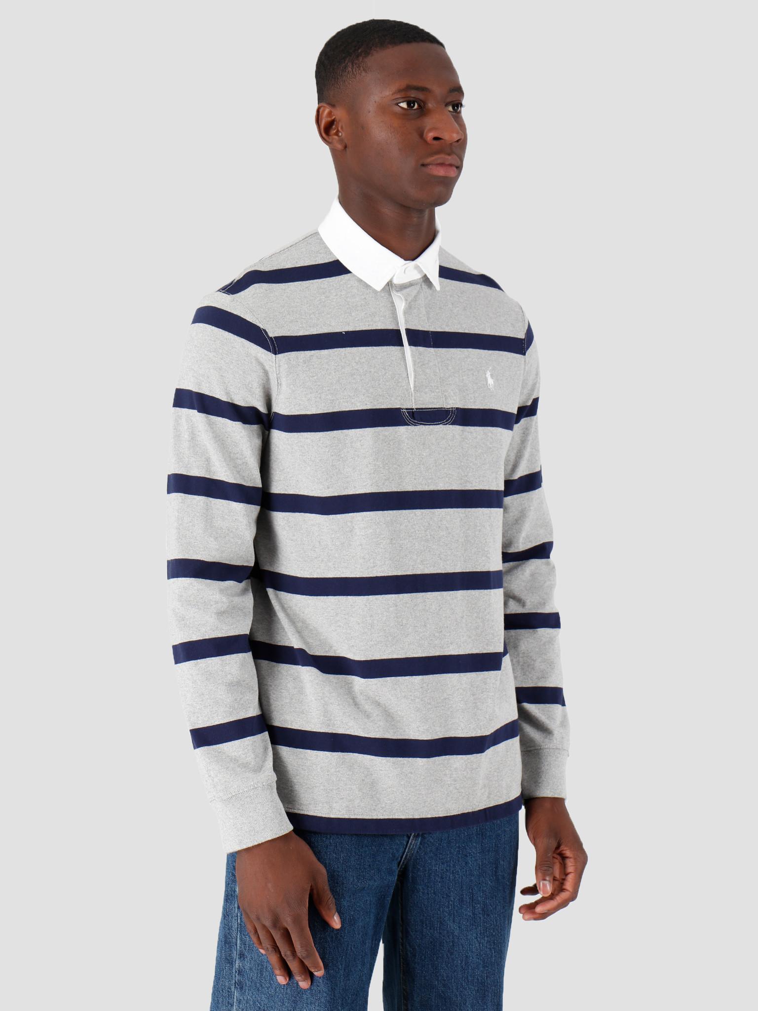 Polo Ralph Lauren Polo Ralph Lauren Lsrgbycmslm3 Longsleeve Knit Grey 710784004002