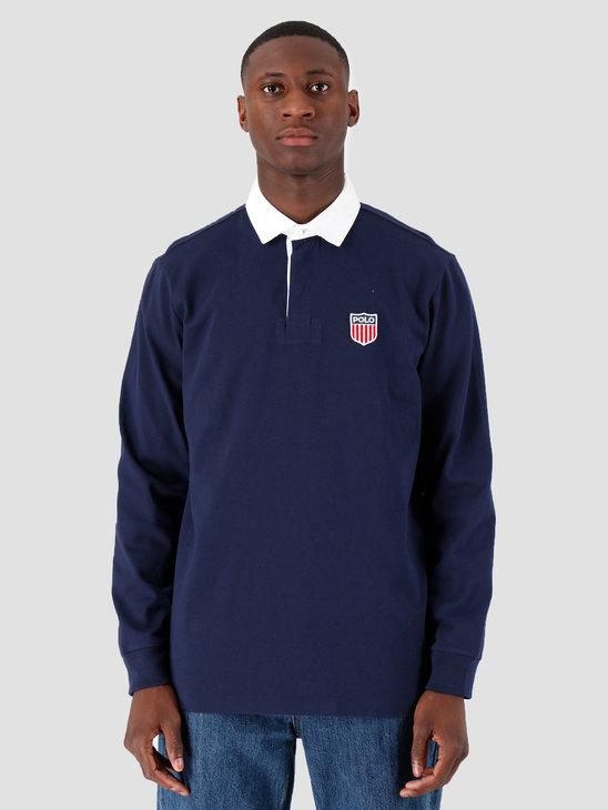 Polo Ralph Lauren Lsrugbym1 Longsleeve Knit Navy 710781173001