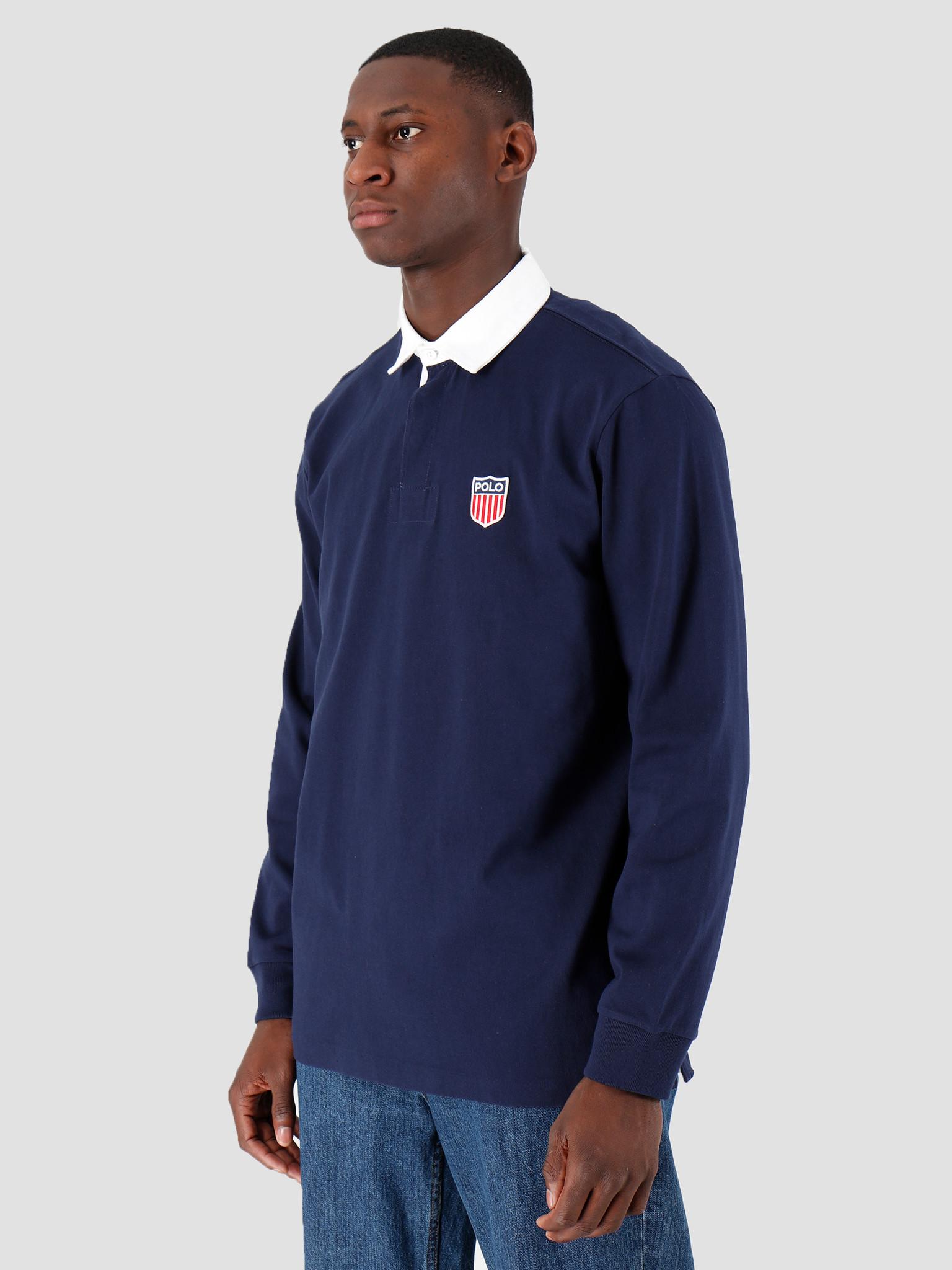 Polo Ralph Lauren Polo Ralph Lauren Lsrugbym1 Longsleeve Knit Navy 710781173001