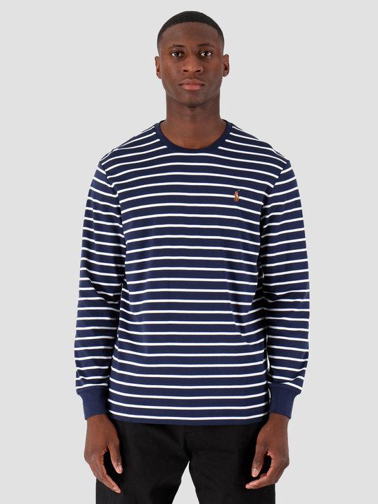 Polo Ralph Lauren Lsydcncmslm3 Longsleeve Tshirt Navy 710760122006