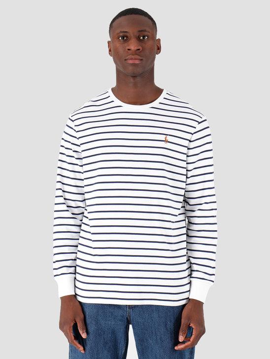 Polo Ralph Lauren Lsydcncmslm3 Longsleeve Tshirt White 710760122002