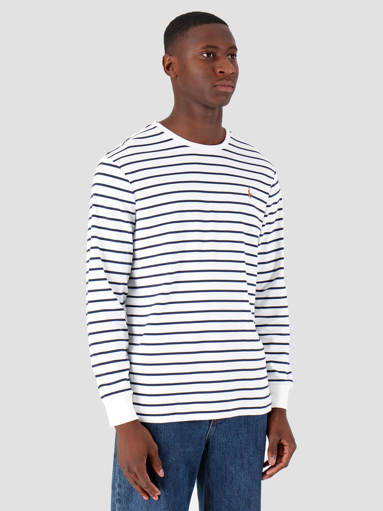 Polo Ralph Lauren Polo Ralph Lauren Lsydcncmslm3 Longsleeve Tshirt White 710760122002
