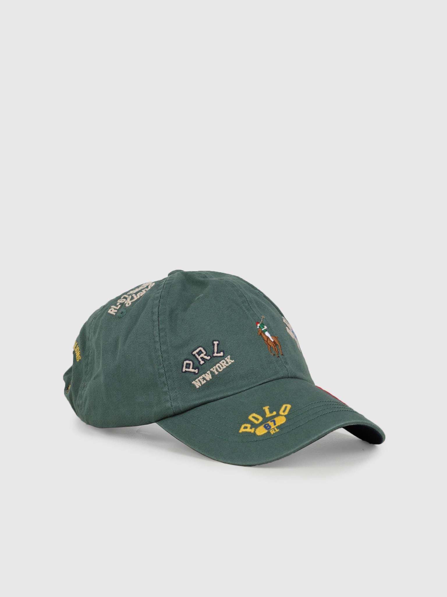 Polo Ralph Lauren Polo Ralph Lauren Cls Sprt Cap Hat Green 710780283002