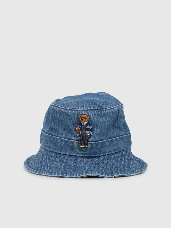 Polo Ralph Lauren Loft Bucket Hat Blue 710780291001