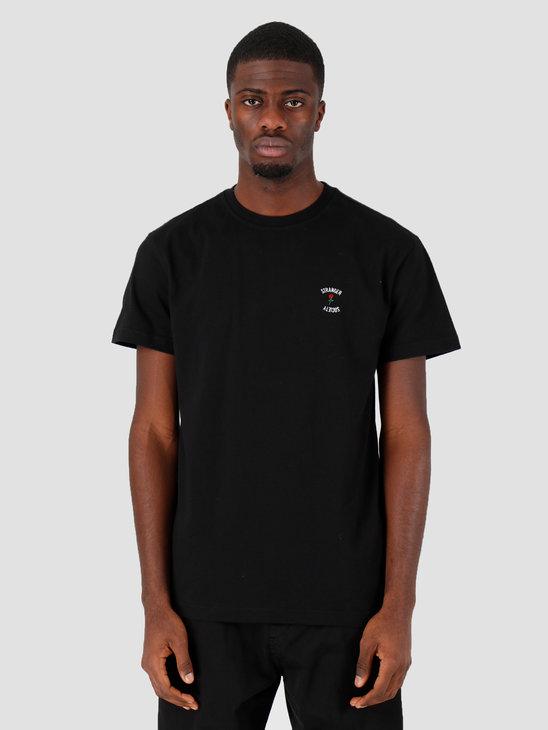 Stranger Society Crew Logo T-shirt Black