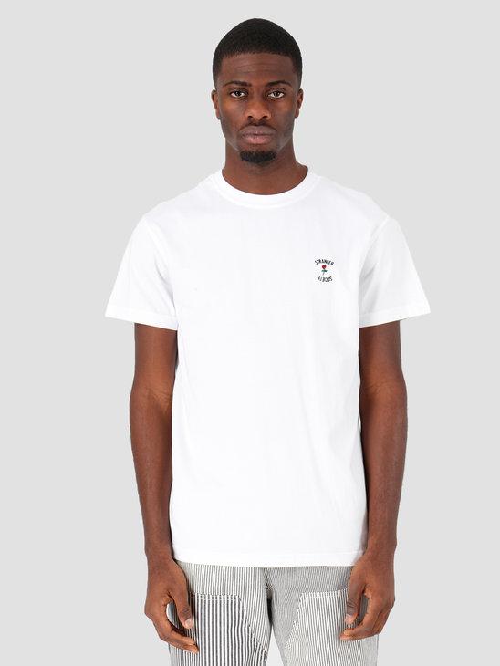 Stranger Society Crew Logo T-shirt White