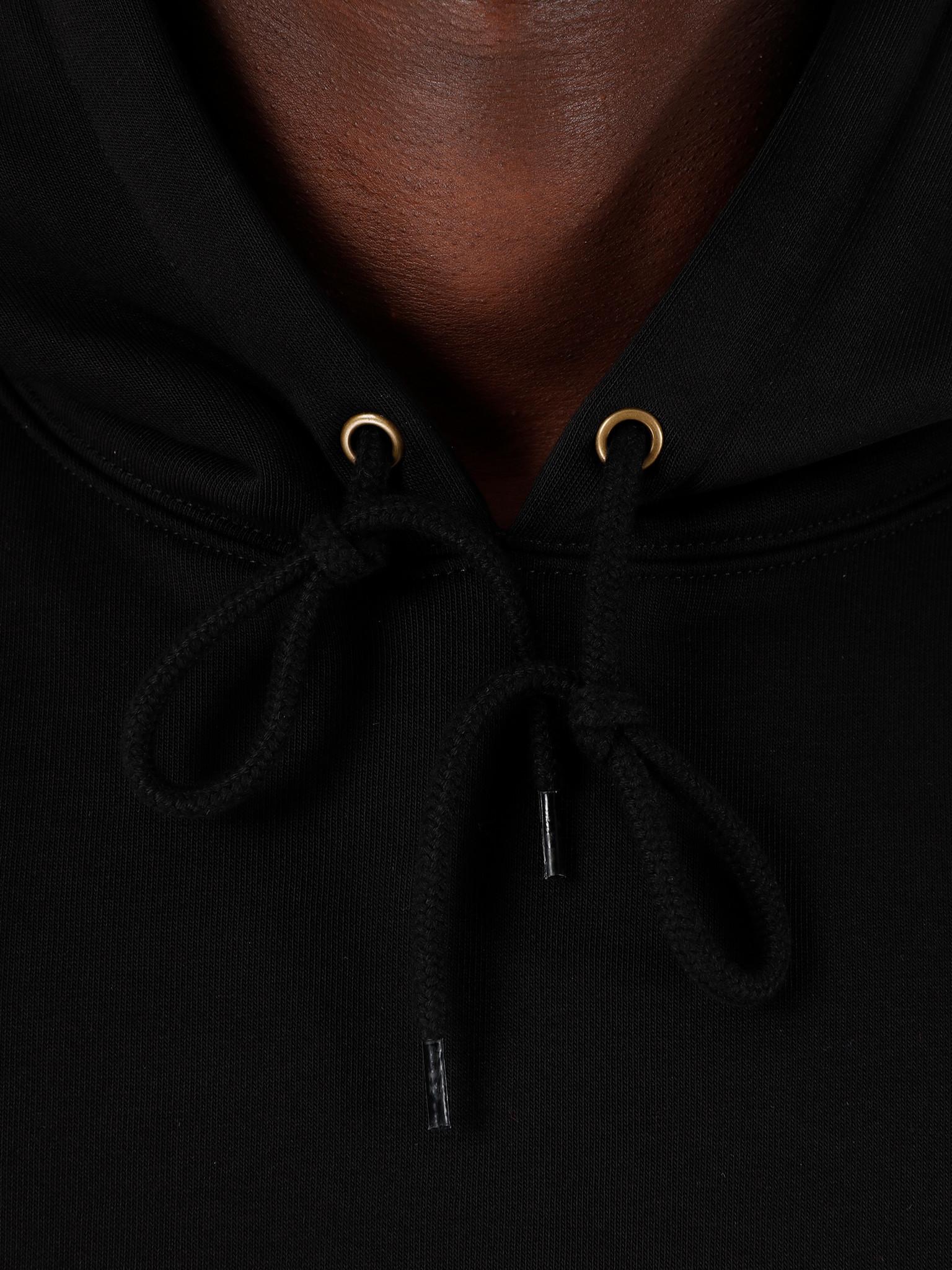 Carhartt WIP Carhartt WIP Hooded Motown Sweat Black White I027162