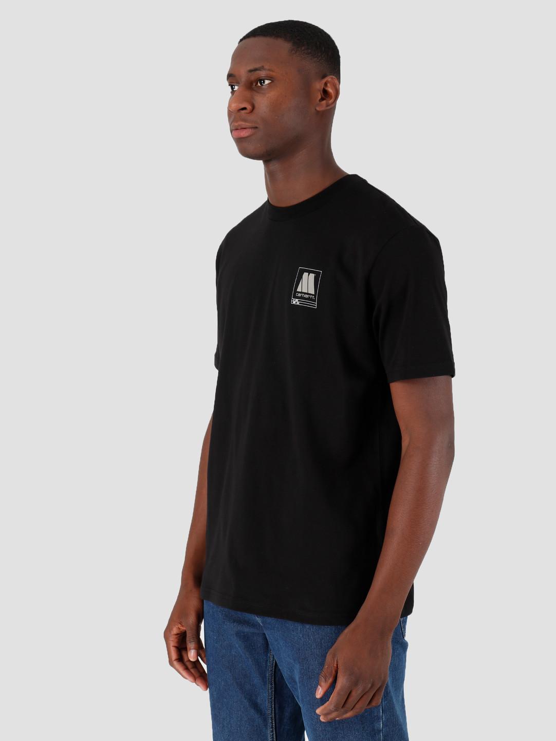 Carhartt WIP Carhartt WIP Motown Orderform T-Shirt Black I027854