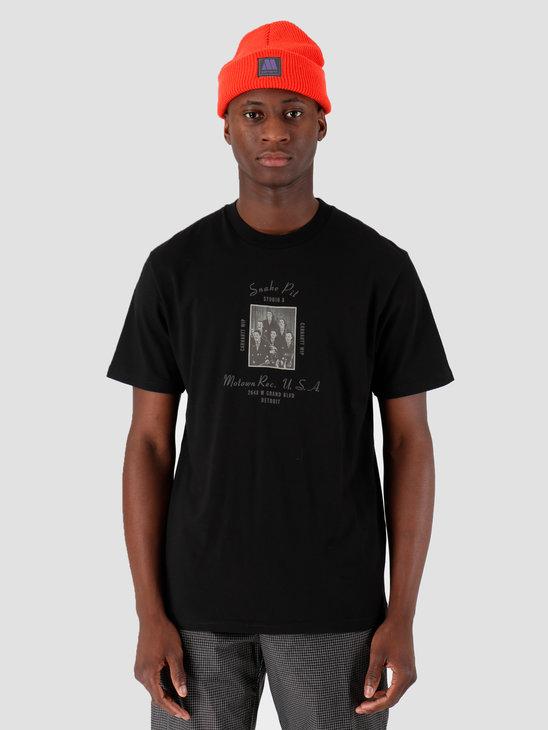Carhartt WIP Motown Snake Pit T-Shirt Black I027856