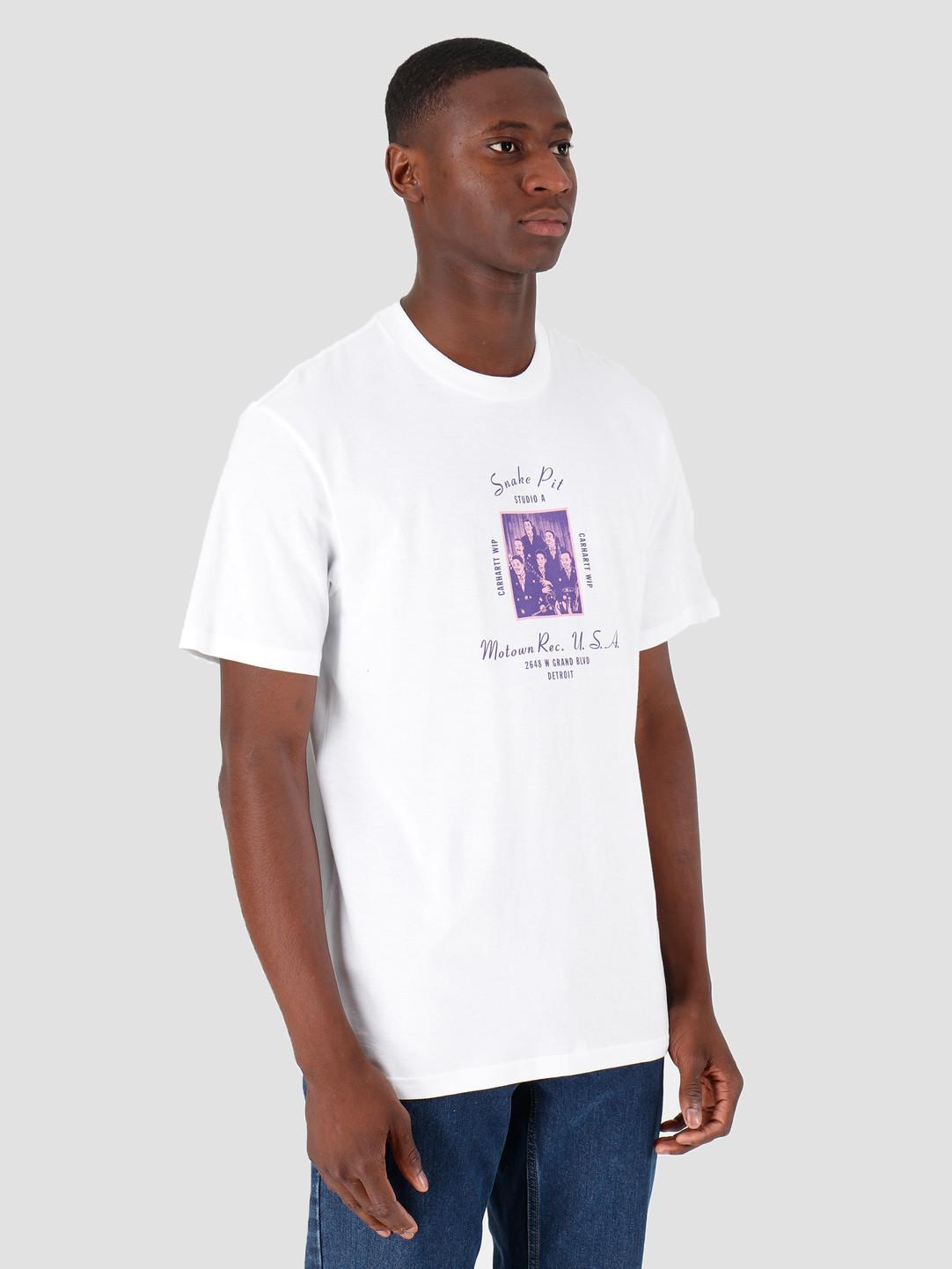 Carhartt WIP Carhartt WIP Motown Snake Pit T-Shirt White I027856