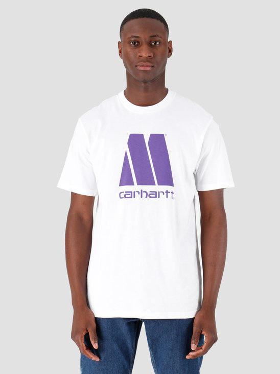 Carhartt WIP Motown X Carhartt WIP T-Shirt White Prism Violet I027853
