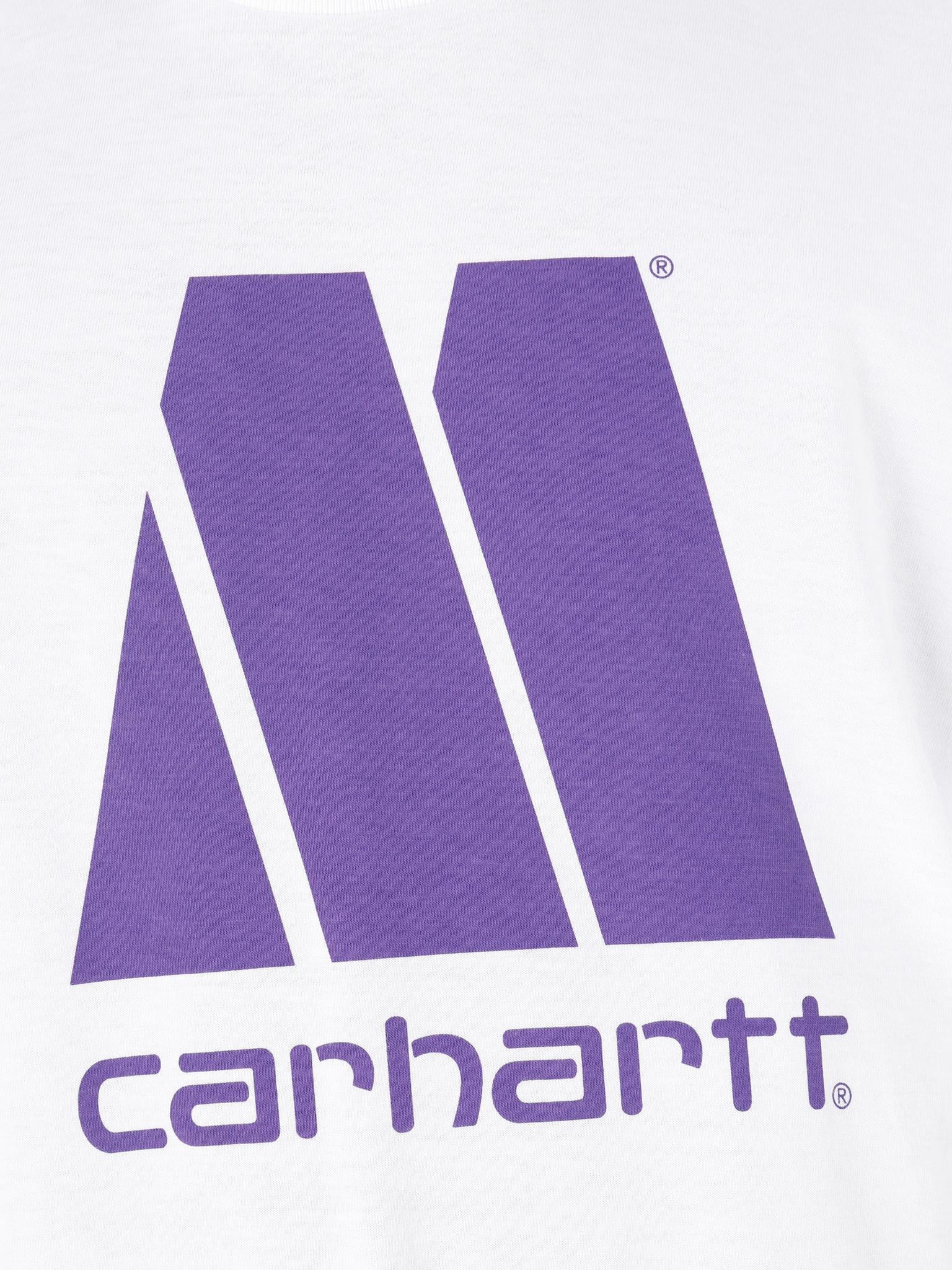 Carhartt WIP Carhartt WIP Motown X Carhartt WIP T-Shirt White Prism Violet I027853