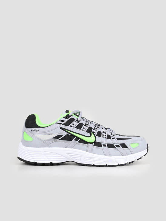 Nike P6000 Wolf Grey Electric Green Black White CD6404 005